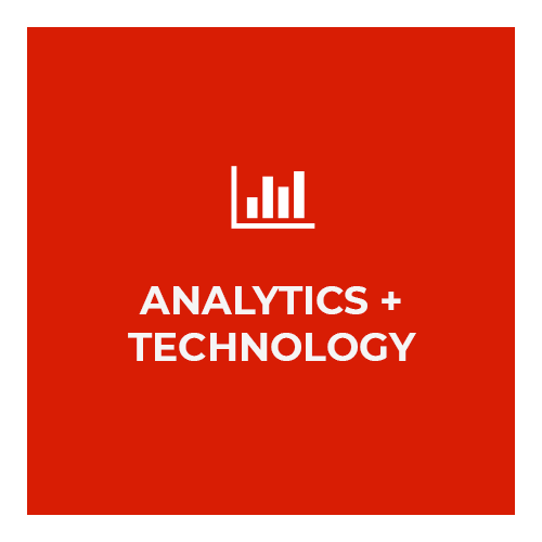analytics + technology