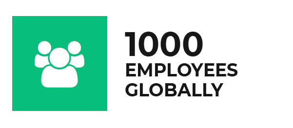1000 Employees Globally